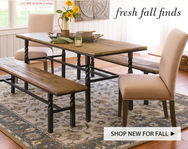 Fresh Fall Finds   Shop New For Fall