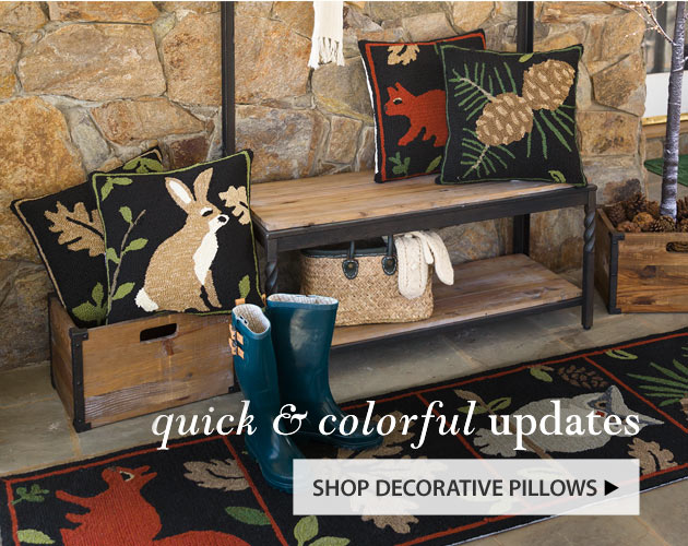 Quick & Colorful Updates - Shop Decorative Pillows