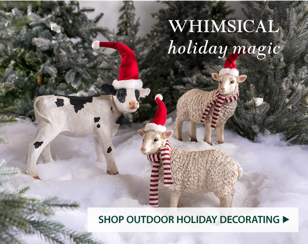 Whimsical Holiday Magic - Shop Outdoor Holiday Decorating