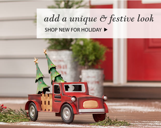 Add a Unique & Festive Look - Shop New for Holiday